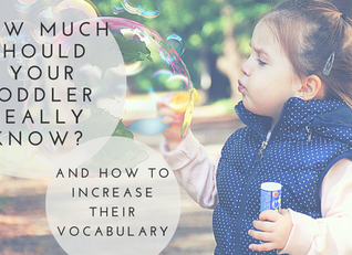 How To Increase Your Child's Vocabulary