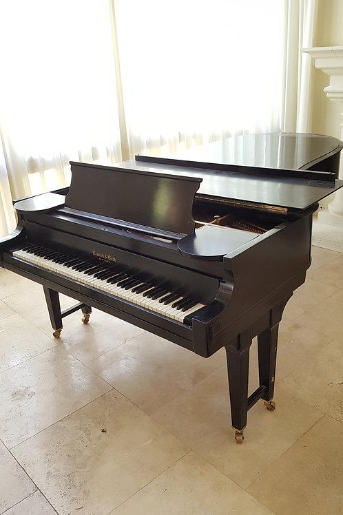 1929 Kranich & Bach Concert Grand Piano