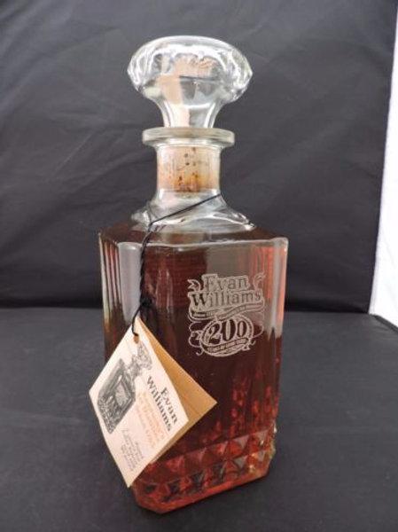 Evan Williams 200 year Anniversary Bourbon Wiskey