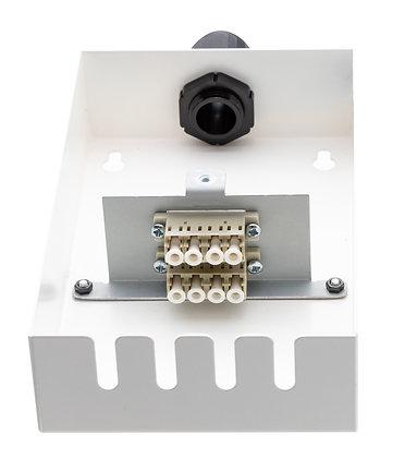 Tamper-Resistant Wall Box - 8 Fibre - LC Quad / Matrix Global Networks