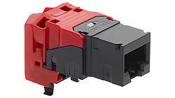 Cat6a EL unshielded connecton module