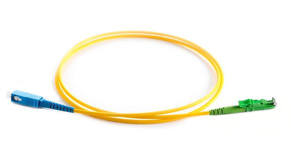 OS2 9/125 E2000/APC-SC Simplex Fibre Optic Patch Cord / Matrix Global Networks