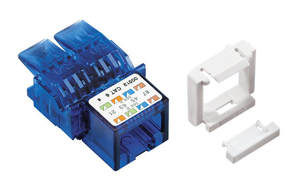 Connection Module Cat6, 1xRJ45/u, Snap-in - P/N 304374, 308734 & 512369 / Matrix Global Networks