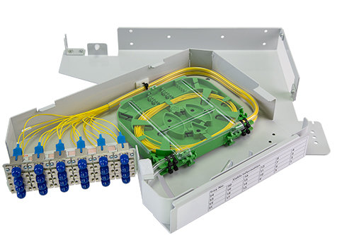 1U Rear Mount Pivoting Patch Panel / Matrix Global Networks