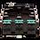 Zettonics SC Multimode Splice Module Aqua