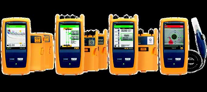 Versiv Range - DSX CableAnalyzer, CertiFiber Pro, OptiFiber Pro and FI-7000 FiberInspector Pro