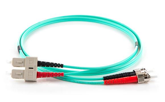 OM4 Multimode 50/125 ST-SC Duplex Patchcord / Matrix Global Networks