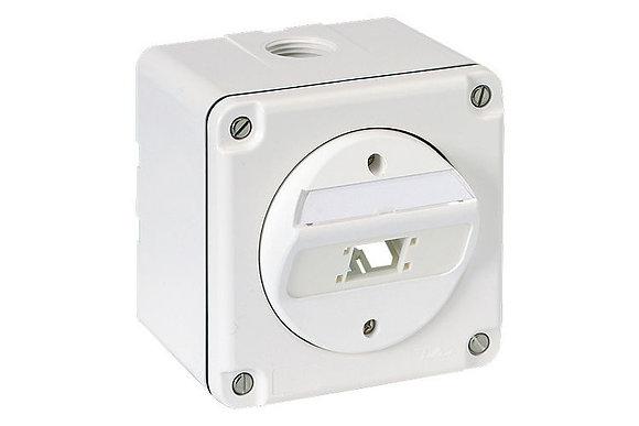 SM Connection Box Splash Line IP54, 87x87 1 port - P/N 307038