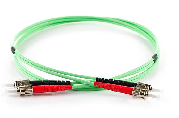 OM5 50/125 ST-ST Duplex Multimode Patchcord / Matrix Global Networks