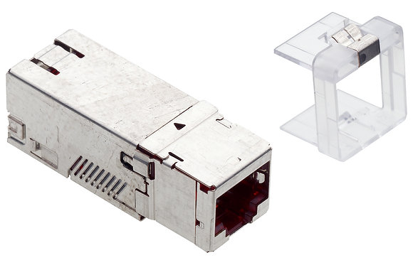 Connection Module Cat6A, 1xRJ45/s, Keystone - P/N 509509 / Matrix Global Networks