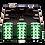 Zettonics LC APC Singlemode Splice Module