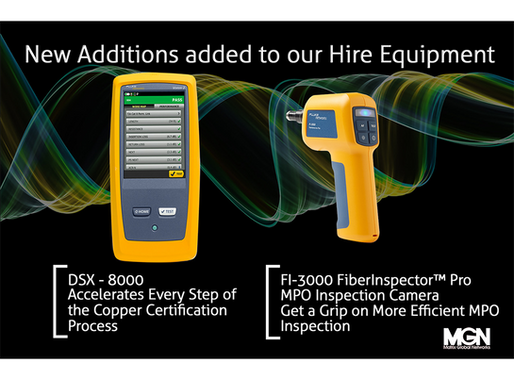 New Additions added to our Hire Equipment.