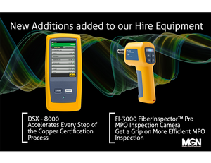 Fluke FI-3000 and DSX2 8000 for Hire, Matrix Global Networks