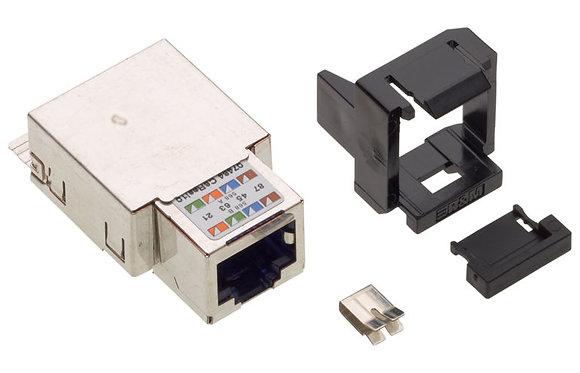 Connection Module Cat6, 1xRJ45/s, Snap-in Black - P/N 512370 | Matrix Global Networks
