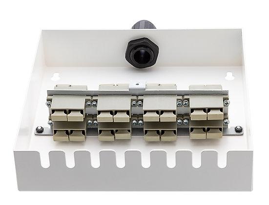 Tamper-Resistant Wall Box - 16 Fibre SC Duplex Adaptors / Matrix Global Networks