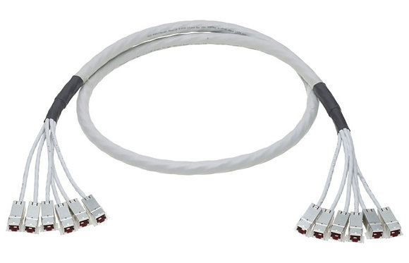 Trunk Cable Compact, Cat6, 6x4P, 650MHz, 7.5m - P/N 803885 / Matrix Global Neworks