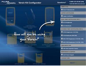 Versiv Kit Configurator, Fluke, Matrix Global Networks