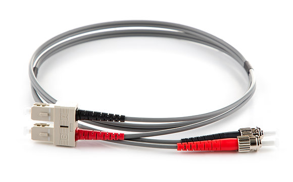 OM1 62.5/125 ST-SC Duplex Fibre Optic Patchcord / Matrix Global Networks