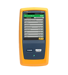 Fluke Networks DSX CableAnalyzer Copper Certification Series including DSX5000 and DSX8000