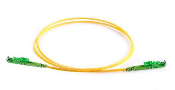 OS2 9/125 E2000/APC - E2000/APC Simplex Fibre Optic Patchcord