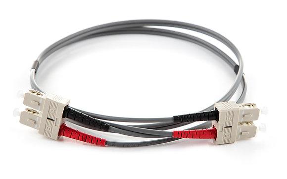 OM1 62.5/125 SC-SC Duplex Fibre Optic Patchcord / Matrix Global Networks