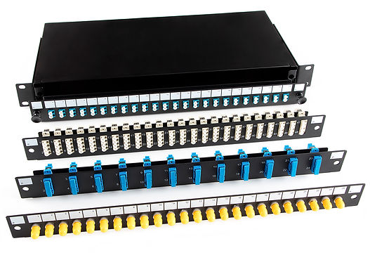 Fibre Optic Sliding Patch Panel System