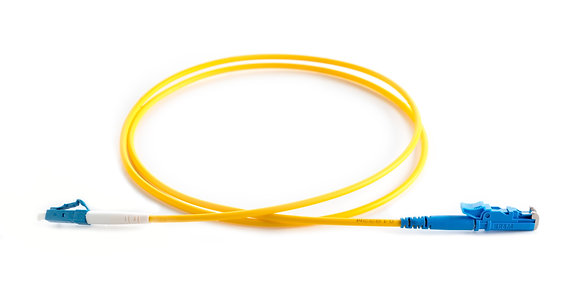 OS2 9/125 E2000-LC Simplex Fibre Optic Patchcord