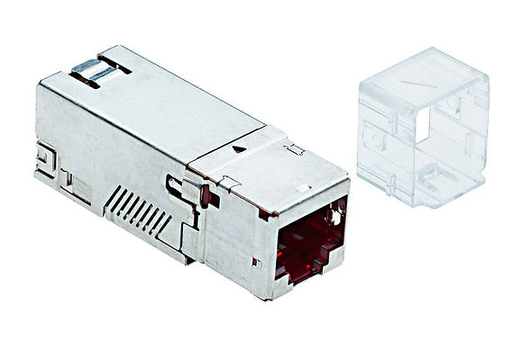 Connection Module Cat6A, 1xRJ45/s, adapter No.1 - P/N 808370 / Matrix Global Networks