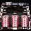 Zettonics LC Multimode Splice Module Erica Violet
