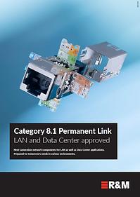 Cat 8.1 Permanent  Link Brochure