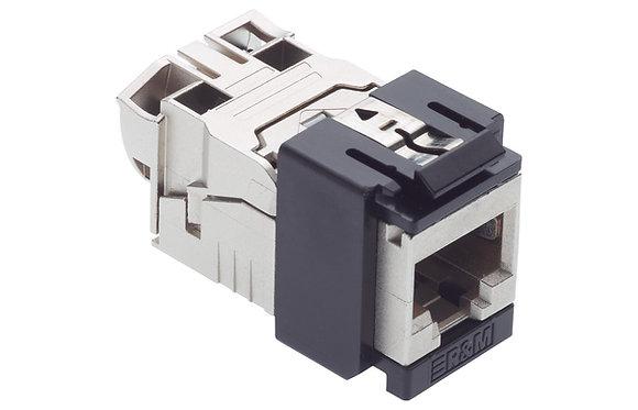 Connection Module Cat6A EL, 1xRJ45/s, Snap-in, black - P/N 813516 & 813517 / Matrix Global Networks