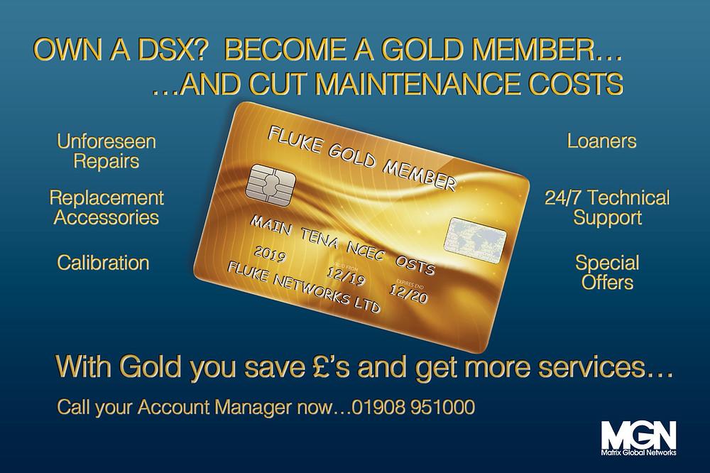 Fluke Gold, Gold Member, Matrix Global Networks