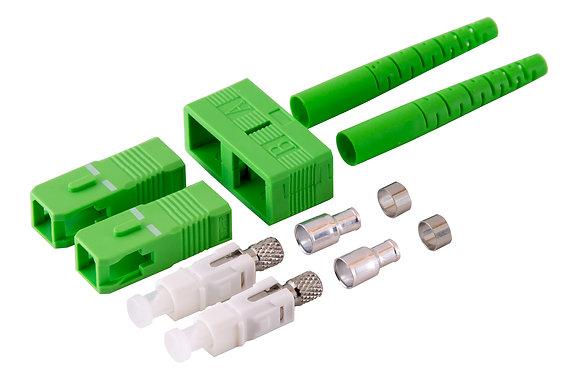 SC Singlemode Duplex APC Connectors / Matrix Global Networks