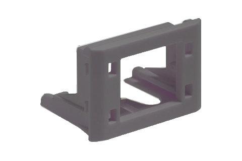 Module Holder RJ45/E2000 - Compact/SC-RJ/Universal Adaptor - Black - P/N 307833 / Matrix Global Networks