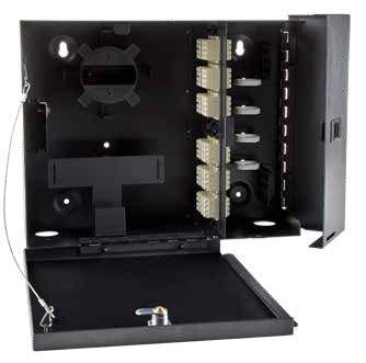 Two Compartment Lockable LGX Enclosure / Matrix Global Networks