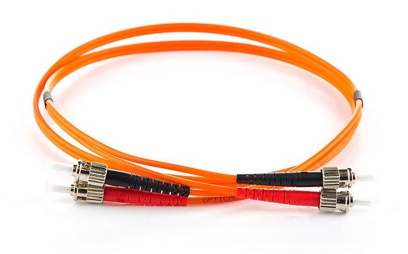 OM2 50/125 ST-ST Duplex Patchcord / Matrix Global Networks