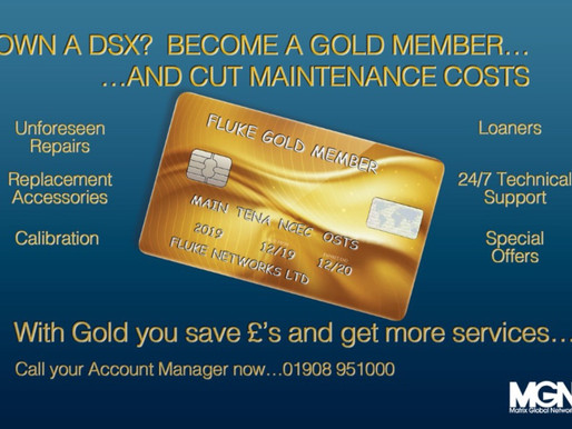 With Gold you save £'s and get more services...