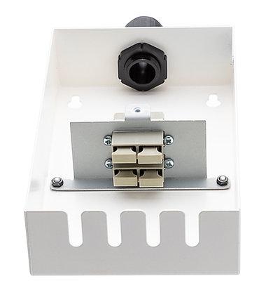 Tamper-Resistant Wall Box - 4 Fibre SC Duplex Adaptors | Matrix Global Networks