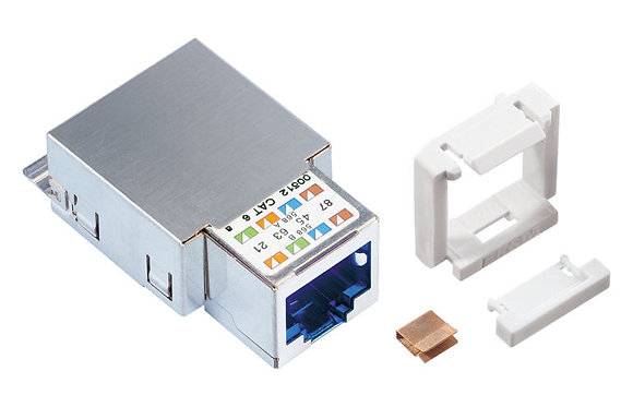 Connection Module Cat6, 1xRJ45/s, Snap-in - P/N 304373, 304327 & 512370 / Matrix Global Networks
