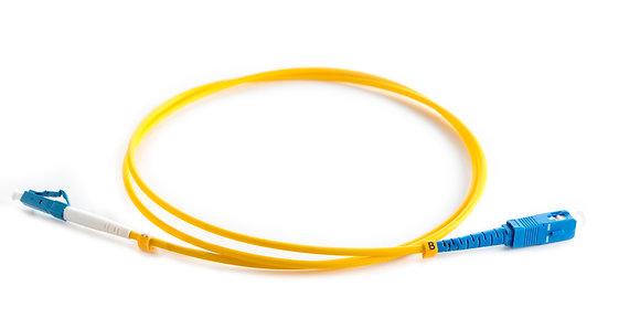 OS2 9/125 LC-SC Simplex Fibre Optic Patchcord