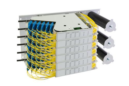 6U Pivoting Tray, Rear Mount System - Matrix Global Networks