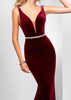 Robe tapis rouge charny