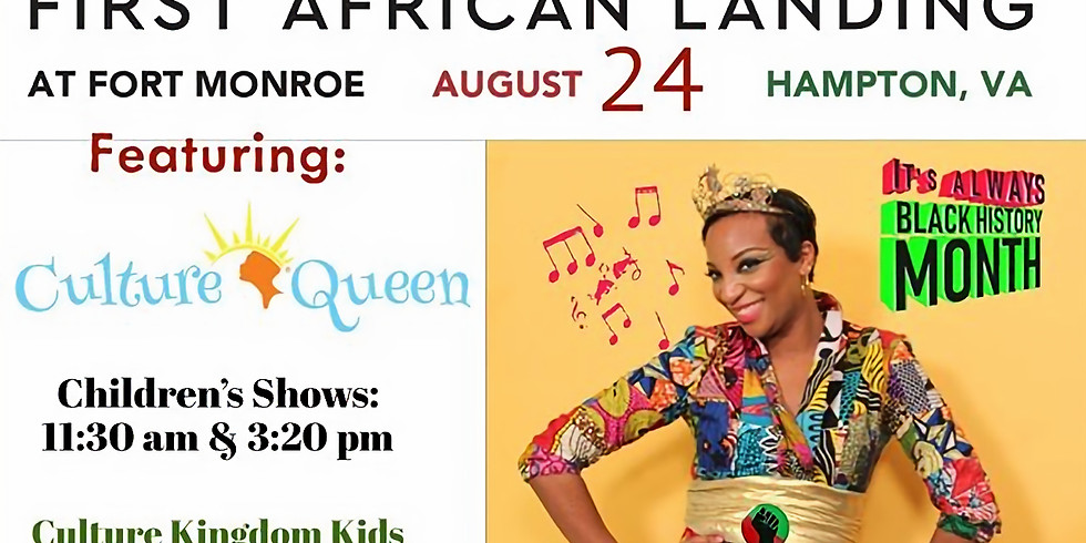 Culture Queen Show on Youth Stage @1619-2019 Commemoration of 1st African Landing