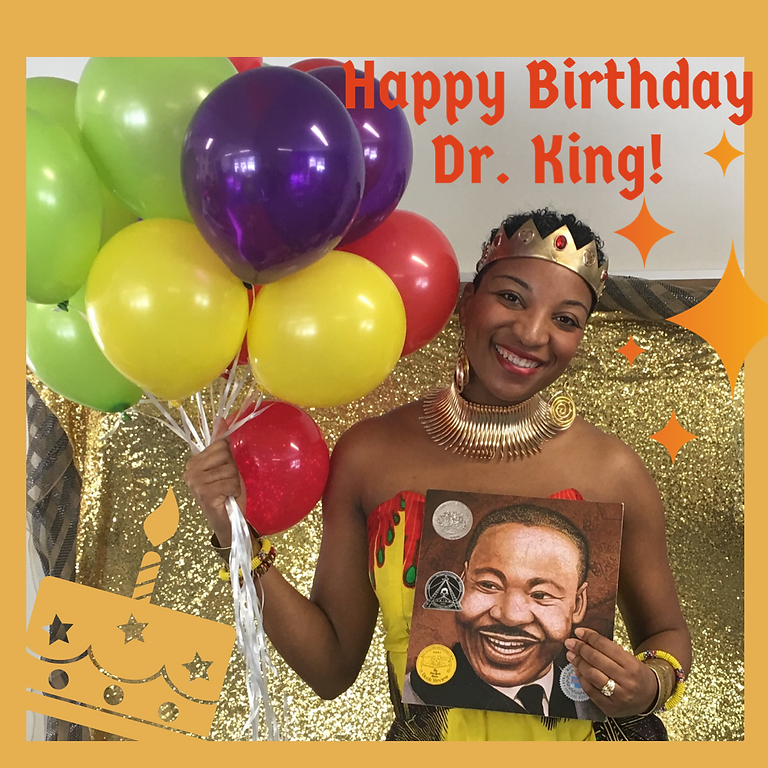 Dr. King Birthday Party w/ Culture Queen @ Sollers Point Library