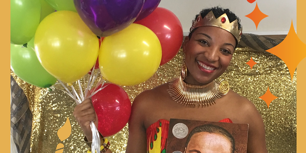 Happy Birthday Dr. King Birthday Party w/ Culture Queen