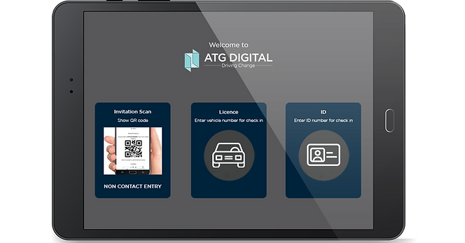 ATG Digital - Visitor Management - At Reception