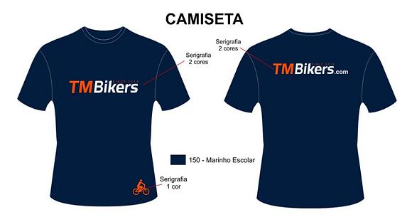 Camiseta algodão TMBikers