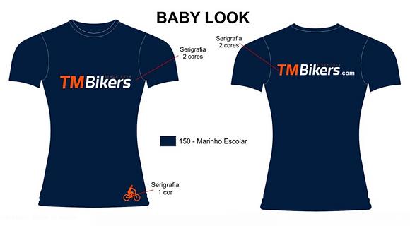 Baby Look algodão TMBikers