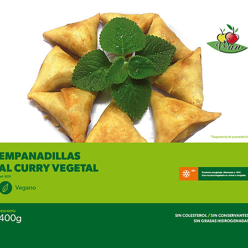 EMPANADILLAS DE CURRY - VEGESAN 400g