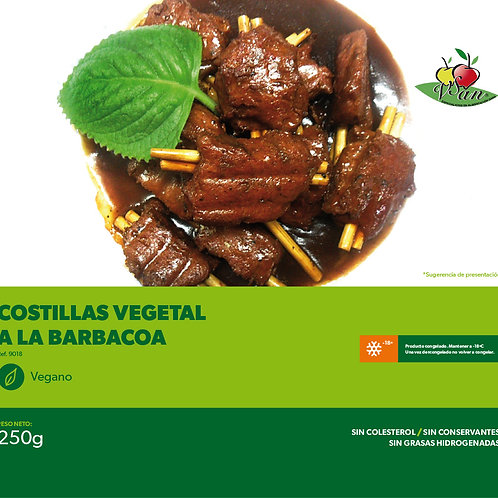 COSTILLAS VEGETAL A LA BARBACOA - VEGESAN 250g